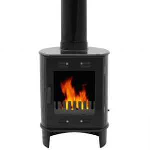 Carron Dante 5KW  Matt Black